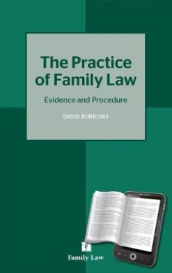 Practice of Family Law: Evidence and Procedure
