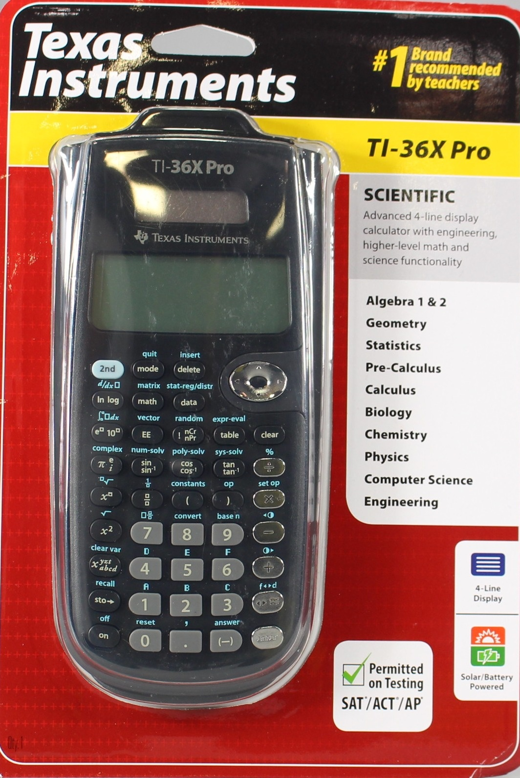 Texas Instruments TI-36X Pro Engineering/Scientific Calculator by