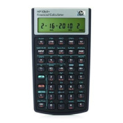 HP 10bII+ Financial Calculator with Calculator, Quick Start Guide, batteries, protective sleeve