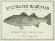 Anglers Book Supply Co 0-9799037-6-9 Saltwater Gamefish Of North America - 18 Card Set