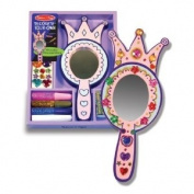 Melissa & Doug Decorate-Your-Own Princess Mirror