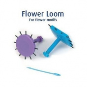 Classic Knit Flower Looms, set of 2, 6.2cm, with 2 Yarn needles