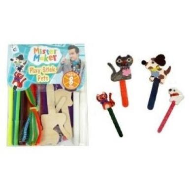 Mister Maker Play Stick Pets Kit
