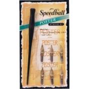 Speedball Ink Dip Pen Poster Lettering Set