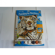 Reeves White Tiger Acrylic Painting Set by Numbers, Medium