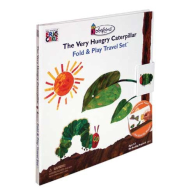 The Very Hungry Caterpillar Fold & Play Travel Set