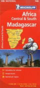 Michelin Map Africa Central South and Madagascar 746 (Maps/Country