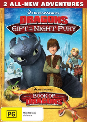Dragons: Gift of the Night Fury / Book of Dragons (from the creators of How to Train Your Dragon)