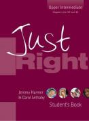 Just Right Upper-Intermediate Workbook [Audio]
