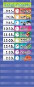 Teachers Friend TF-5102 Daily Schedule Pocket Chart Gr K-5
