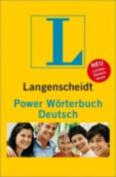 Langenscheidt Power Worterbuch Deutsch [GER]