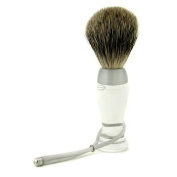 Shave Brush Fine - Clear, 1pc