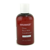 Shea Rice Milk Conditioner ( For All Hair Types ), 120ml/4oz