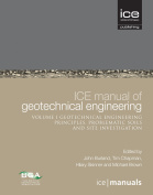 ICE Manual of Geotechnical Engineering Vol 1