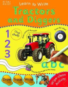 Learn To Write With Tractors and Diggers