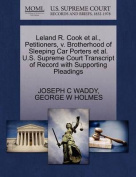 Leland R. Cook et al., Petitioners, V. Brotherhood of Sleeping Car Porters et al. U.S. Supreme Court Transcript of Record with Supporting Pleadings
