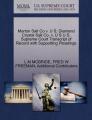 Morton Salt Co V. U S; Diamond Crystal Salt Co. V. U S U.S. Supreme Court Transcript of Record with Supporting Pleadings