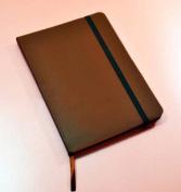 Monsieur Notebook Leather Journal - Brown Ruled Medium A5