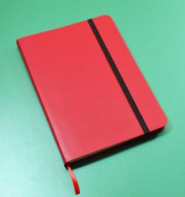 Monsieur Notebook Leather Journal - Red Sketch Medium A5
