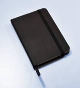 Monsieur Notebook Leather Journal - Black Plain Small