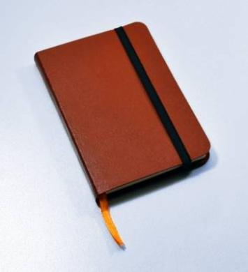 Monsieur Notebook Leather Journal - Tan Plain Medium A6