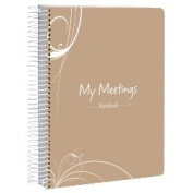 Spirax P307D My Meeting Minutes Book, A5, 200 Pages