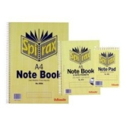 Spirax 566A Stenographers Shorthand Notebook, 200P