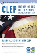 CLEP(R) History of the U.S. I Book + Online