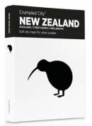 New Zealand Crumpled City Map