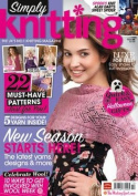 Simply Knitting (UK) - 1 year subscription - 13 issues