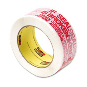 3M Commercial Office Supply Div. MMM3771 Preprinted Message Tape- 1-.88in.x109 Yards- Red On White
