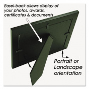 Nu-Dell Bamboo Frame, 22cm x 28cm , Black