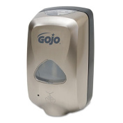 Gojo 2789-12 TFX Touch-Free Soap Dispenser 1200 mL Nickel