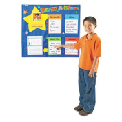 Star Student Pocket Chart, 28 x 28, Five Cards