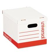 Universal Economy Boxes, 30cm x 38cm x 9 7/8, White, 10/Carton