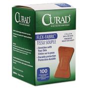 Flex Fabric Bandages, Assorted Sizes, 100 per Box