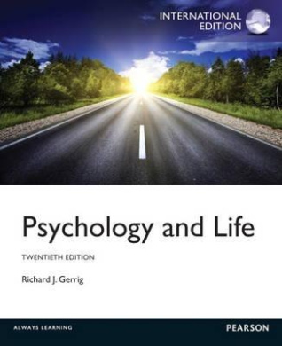 Psychology and Life: International Edition