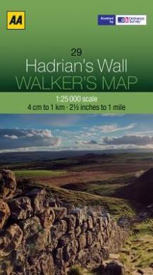 Hadrian's Wall (Walker's Map)