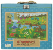Green Start Dinosaurs Giant Floor Puzzle