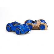 Green Toys 1203488 Green Toys Race Car in Blue