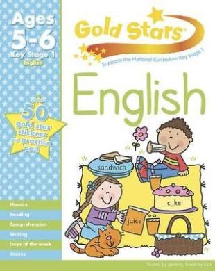 Gold Stars KS1 English Workbook Age 5-7