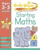 Gold Stars Starting Maths Preschool Workbook