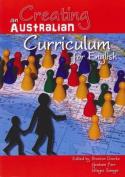 Creating an Australian Curriculum for English