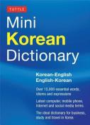 Tuttle Mini Korean Dictionary
