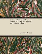 Johannes Brahms - Cello Sonata No.1 - Op.38 - A Score for Cello and Piano