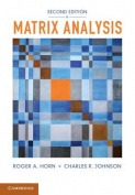 Matrix Analysis