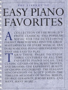 The Library Of Easy Piano Favorites.
