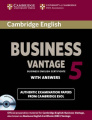 Cambridge English Business 5 Vantage Self-study Pack (Student's Book with Answers and Audio CDs (2))