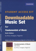 Downloadable Music Set for Fundamentals of Music Student Access Kit