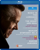 Music Is the Language of the Heart and Soul/Mariss Jansons [Region B] [Blu-ray]